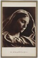 Mary Ann Hillier as Mary Mother, by Julia Margaret Cameron - NPG x18041