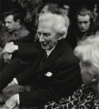 Bertrand Arthur William Russell, 3rd Earl Russell at an anti-nuclear demonstration, by Ida Kar - NPG x131163