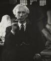 Bertrand Arthur William Russell, 3rd Earl Russell, by Ida Kar - NPG x131164