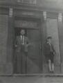 Keidrych Rhys and an unknown boy, by Ida Kar - NPG x131168