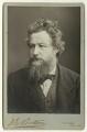 William Morris, by Abel Lewis, printed by  James Edward Bruton (Brunton) - NPG x3723