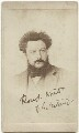 William Morris, by Unknown photographer - NPG x3720