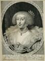 Henrietta Maria, by Willem Jacobsz Delff, after  Daniel Mytens - NPG D26390