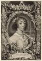 Henrietta Maria, by Jonas Suyderhoef, after  Sir Anthony van Dyck - NPG D26391