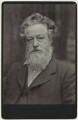 William Morris, by Sir Emery Walker - NPG x3733