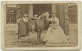 Prince Albert Victor, Duke of Clarence and Avondale; King George V; Queen Alexandra, by W. & D. Downey - NPG x129624