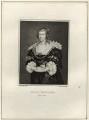 Henrietta Maria, by Edward Harding, after  Silvester Harding - NPG D26399