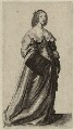 Henrietta Maria, by Wenceslaus Hollar - NPG D26401