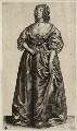 Henrietta Maria, by Wenceslaus Hollar - NPG D26403
