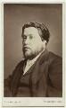 Charles Haddon Spurgeon, by Richard Smith - NPG x46487