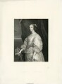 Henrietta Maria, by Ferdinand Jean de la Ferté Joubert, after  Sir Anthony van Dyck - NPG D26404