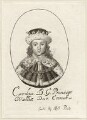 King Charles II, possibly by William Faithorne, published by  Sir Robert Peake - NPG D26422