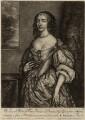 Mary, Princess of Orange, by William Faithorne Jr, after  Adriaen Hanneman - NPG D26431