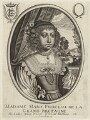 Mary, Princess Royal and Princess of Orange, published by Balthasar Moncornet - NPG D26433