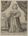 Princess Elizabeth, by Robert Vaughan, published by  Thomas Jenner - NPG D26441