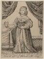 Princess Elizabeth, by Robert Vaughan, published by  Thomas Jenner - NPG D26441