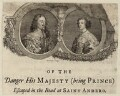 King Charles I and Henrietta Maria, by George Vertue - NPG D26445