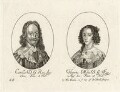 King Charles I and Henrietta Maria, by George Glover - NPG D26446