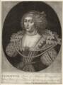 Princess Elizabeth, Queen of Bohemia and Electress Palatine, by John Faber Sr - NPG D26451