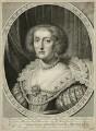 Princess Elizabeth, Queen of Bohemia and Electress Palatine, by Robert van Voerst, after  Gerrit van Honthorst - NPG D26455