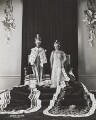 King George VI and Queen Elizabeth, the Queen Mother, by Dorothy Wilding - NPG x34730
