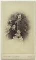 Queen Alexandra; Prince Albert Victor, Duke of Clarence and Avondale; King Edward VII, by Vernon Heath - NPG x14700