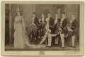 Alexandra of Denmark with her coronation pages, by W. & D. Downey - NPG x33258