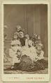 Alexandra of Denmark with her children, by Georg Emil Hansen - NPG x131190