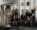 Royal Academy Hanging Committee 2001, by Keith Collie - NPG x131189