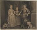 Three Eldest Children of Charles I, by Sir Robert Strange, after  Sir Anthony van Dyck - NPG D32118
