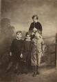 Trevor Grant; Richard Grant; John Grant; Andrew John Wedderburn Colvile, by James Ross - NPG x33256