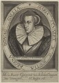 Mary, Queen of Scots, probably by Crispyn van den Queborne, published by  H. Jacopsen (Jacobsen), after  Unknown artist - NPG D32133