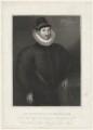 Fulke Greville, 1st Baron Brooke of Beauchamps Court, by Edward Scriven, after  Unknown artist - NPG D32175