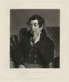 John Brook, by James Scott, after  William Etty - NPG D32173