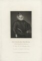Fulke Greville, 1st Baron Brooke of Beauchamps Court, by Robert Cooper, after  William Hilton, after  Unknown artist - NPG D32177