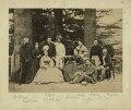 Group of officials and relatives, Simla, possibly by Bourne & Shepherd - NPG x129646