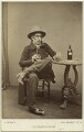 George Vincent as Melter Moss in 'The Ticket-of-Leave Man', by The Album Portrait Company - NPG x21429