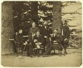 Group of officials, Simla, possibly by Bourne & Shepherd - NPG x129648
