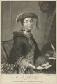 Mrs Brooks, by Richard Houston, printed for  Carington Bowles, after  Thomas Worlidge - NPG D32190