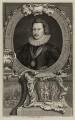 George Villiers, 1st Duke of Buckingham, by Jacobus Houbraken, after  Cornelius Johnson - NPG D26510