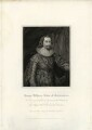 George Villiers, 1st Duke of Buckingham, by Charles Picart, after  Cornelius Johnson - NPG D26519