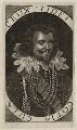 George Villiers, 1st Duke of Buckingham, by Walter Dolle, after  Cornelius Johnson - NPG D26520