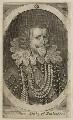George Villiers, 1st Duke of Buckingham, by Walter Dolle, after  Cornelius Johnson - NPG D26522