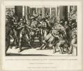 The assassination of George Villiers, 1st Duke of Buckingham by John Felton, by Richard Sawyer - NPG D26521