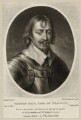 Robert Rich, 2nd Earl of Warwick, by Richard Earlom, after  Sir Anthony van Dyck, published by  Samuel Woodburn - NPG D26538