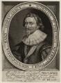 Philip Herbert, 4th Earl of Pembroke, by Robert van Voerst, published by  William Webb, after  Daniel Mytens - NPG D26550