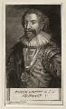 William Herbert, 3rd Earl of Pembroke, by George Vertue, after  Daniel Mytens - NPG D26552