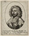 Edward Sackville, 4th Earl of Dorset, by Wenceslaus Hollar, after  Sir Anthony van Dyck - NPG D26566