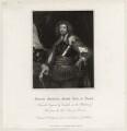 Edward Sackville, 4th Earl of Dorset, by John Henry Robinson, published by  Harding & Lepard, after  William Derby - NPG D26567