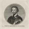 Thomas Wentworth, 1st Earl of Strafford, after Sir Anthony van Dyck - NPG D26597